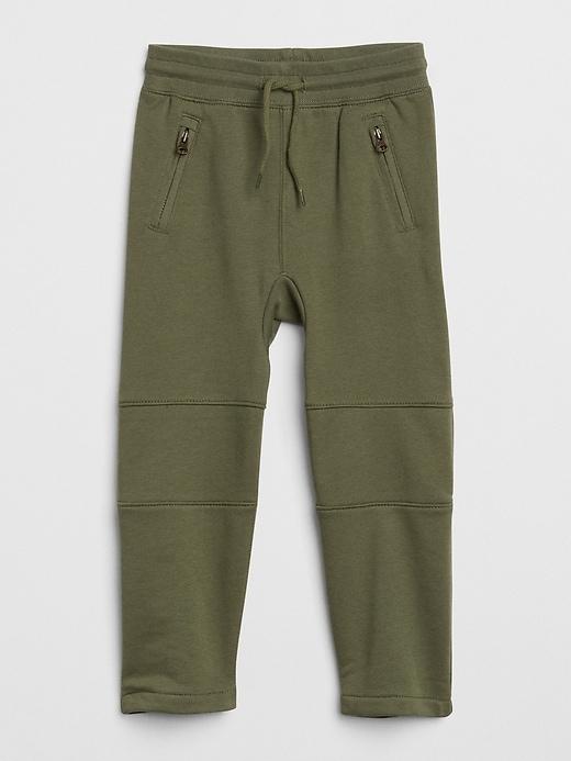 hot sale online aefe7 8b797 Toddler Boy Jumping Beans® Quilted Knee Slim Fleece Pants. KOHLS SHOP.  Pull-On Moto Pants